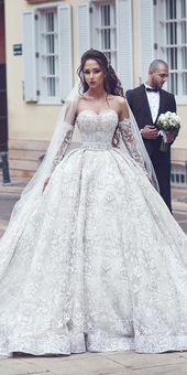 30 Ballkleid Brautkleider für eine Königin