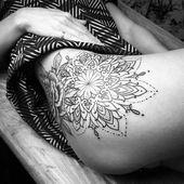 Thigh Tattoo – 48 Character Tattoos