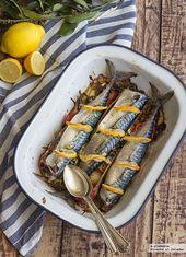 Caballa al horno con verduras asadas: receta para disfrutar de este pescado económico de una manera deliciosa   – Looks delicious!