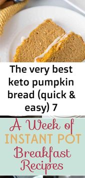 The very best keto pumpkin bread (quick & easy) 7