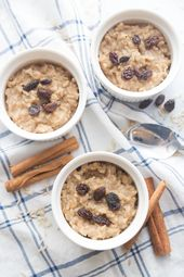 Healthy Instant Pot Brown Rice Pudding | 21 Day Fix Brown Rice Pudding [Gluten-Free, Dairy-Free, Vegan Option] – Confessions of a Fit Foodie