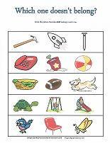 Pizza Pattern Puzzler   Free Kindergarten Critical Thinking Worksheet JumpStart