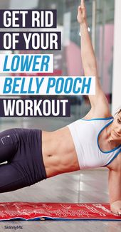 Look long, lean, and toned with this lower belly pooch workout meant to strength…