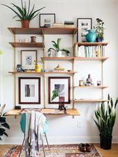 ▷ 1001+ Ideen für Regal selber bauen – Freshideen – My Blog – Schreibtisch Selber Bauen