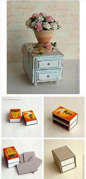 Ein Puppenhaus aus dem Bücherregal: eine Idee und eine Meisterklasse