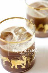 Tamarind Vanilla Whisky Sour   – Festive Beverages