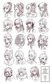 Easy Girl Hairstyle Drawing Drawing Noteinfo Anime Easy Manga Girl Hairstyles D Anime Short Hair Drawing Girls Hairstyles Easy How To Draw Hair