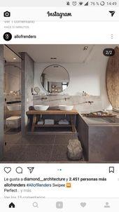 Idée de style et matériaux de la salle de bain au rez-de-chaussée