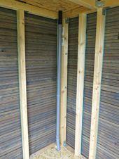 DIY: Gartenhütte – Gartenhäuschen – #DIY # Gartenhäuschen # Gartenhäuschen – Anbau …   – Anbau Haus
