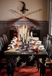 Astonishing Halloween Table Decoration That Perfect For This Year 22