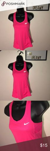 NIKE Running Pink Dri Fit Tank Top Perfect condition  🚫 NOT TRADING 🚫 NO H…
