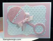 Baby Cards SU 1 3/4
