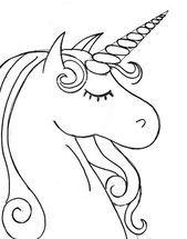 Dibujo Para Colorear Cabeza De Unicornio Cabeza Colorear Dibujo Unicornio Unicorn Painting Unicorn Coloring Pages Unicorn Drawing