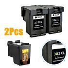 2pcs Printing Black Ink Cartridges Office Home Supplies For Hp 302
