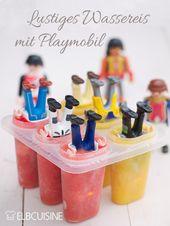 Eis, Eis Baby – lustiges Eis mit Playmobil Männchen zum Kindergeburtstag   – kindergeburtstag   kids party