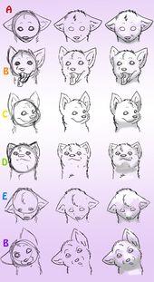 Wölfe zeichnen Teil 4 von ~ DogWolf129 auf deviantART #deviantart # dogwolf129 #wolves