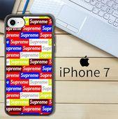 Supreme Wallpaper X4486 iPhone 7 Case