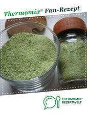 Kräutersalz – Das Beste   – Thermomix