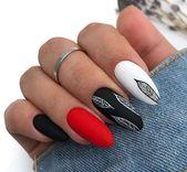 35 Fabulous Black Nail Designs für Damen || Schwarze Nägel sind vielseitig …   – Nail Designs