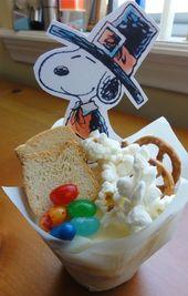 Fügen Sie Ihrem Erntedankfest ein wenig Spaß hinzu, indem Sie ein Charlie Brown-Erntedankfest veranstalten …