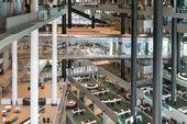 Illustrator Workspace FRAME | 3 atrium-centred workspaces by Foster + Partners, OMA and HofmanDujardin