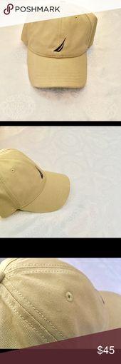 Nautica Men's SnapBack Hat Men's light brown SnapBack hat would look good on…  – My Posh Picks