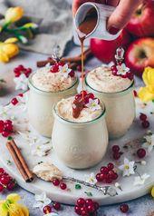 Karamell Mousse mit Karamellsauce | Veganes Dessert – Bianca Zapatka | Rezepte