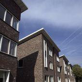 Referenz moderne Häuser Koningsweg in Soest, wartungsfreundliche Fassade …