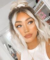 10+ schöne Make-up- und Haarideen   – Hair