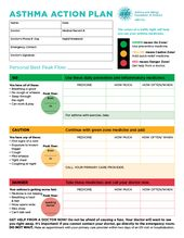 Asthma Action Plan  Clinic Resources    Asthma And