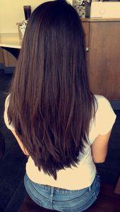 50 schöne lange geschichtete Frisuren – # Frisuren #LayeredHairstyle Fr …   – My Blog