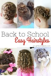 Back to School Hairstyles – Girl Loves Glam