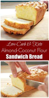 Coconut and Almond Flour Sandwich Bread (GAPS, Dairy-Free)