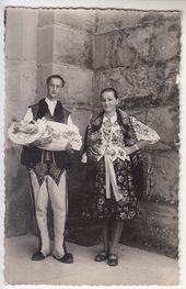 Chocholow Chrzest Gorale Stroj Goralski 1952 Polish Folk Art Poland Costume Vintage Romania