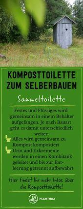 Komposttoilette Funktion Anleitung Zum Selberbauen Kompost Anlegen Tipps Zum Kompost Bauen Komposttoilette Kompost Selber Bauen Garten