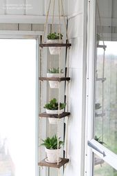 Photo of 45 charming outdoor hanging planter ideas that brighten your garden – home decors