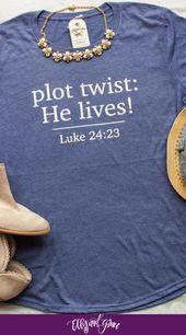 Plot Twist He Lives Ladies Short Sleeve Shirt