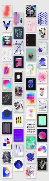 Diseña un póster todos los días durante 1 año. Los primeros años han terminado después de publicar …   – Kochen
