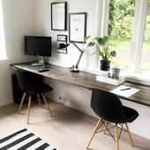 How to set up an office area in your living room – Home Decoraiton
