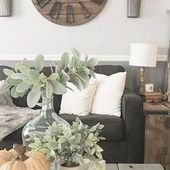 59+Farmhouse Wall Decor Living Room above Couch Ea…