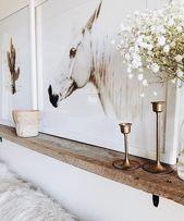 Wohnzimmer Regal über der Couch – #abovecouch #Couch …