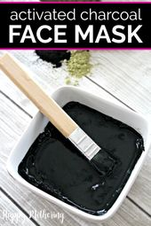 The Best Tightening Activated Charcoal Face Mask