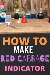 Red Cabbage Indicator Potions