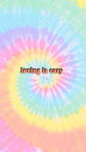 loving is easy wallpaper