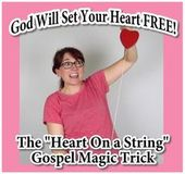 Das Herz auf einer Schnur Gospel Magic Trick – kid minstry