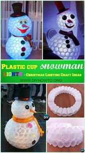 10 DIY Outdoor Christmas Lighting Craft Ideas Projects [Picture Instructions]