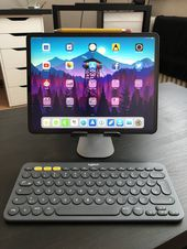 Just got the K380 Keyboard and my iPad Pro Setup ist perfect now