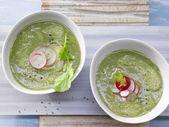 Radieschen-Kartoffel-Suppe