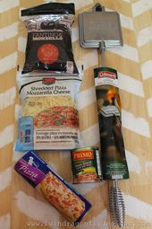 Recette de camping pizza camping cook   – camping
