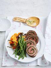 Kräuter – Rinderfilet – Rolle, ein schönes Rezep…